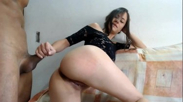 slender babe stacey saran sucks cock and takes it deep inside her
