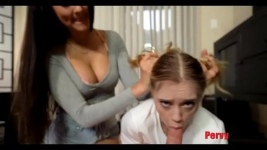 The headmistress sucks dick of a secretary