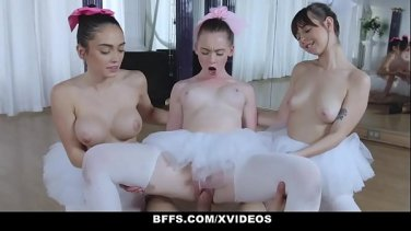Sexy athlete fucks her coach during training