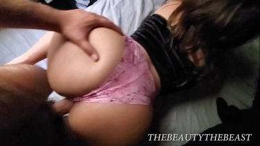 sexy blonde babe violet voss stuffed on cam by eric john
